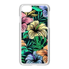 Hibiscus Dream Apple Iphone 8 Seamless Case (white)