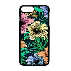 Hibiscus Dream Apple Iphone 8 Plus Seamless Case (black)