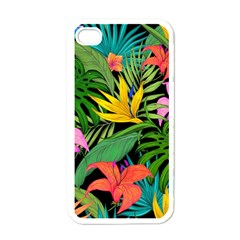 Tropical Adventure Apple Iphone 4 Case (white)