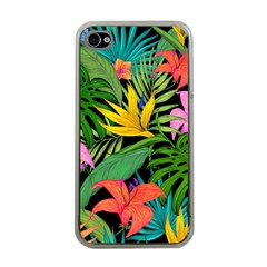 Tropical Adventure Apple Iphone 4 Case (clear)