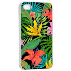 Tropical Adventure Apple Iphone 4/4s Seamless Case (white)