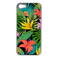 Tropical Adventure Apple Iphone 5 Case (silver)