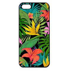 Tropical Adventure Apple Iphone 5 Seamless Case (black)
