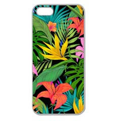 Tropical Adventure Apple Seamless Iphone 5 Case (clear)