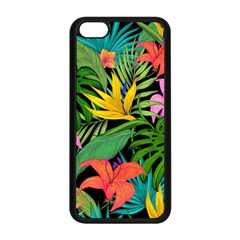 Tropical Adventure Apple Iphone 5c Seamless Case (black)