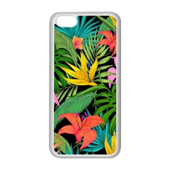 Tropical Adventure Apple Iphone 5c Seamless Case (white)