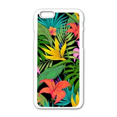 Tropical Adventure Apple Iphone 6/6s White Enamel Case