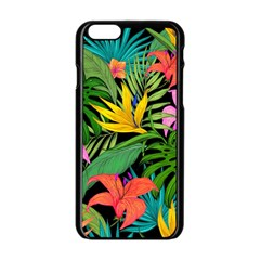 Tropical Adventure Apple Iphone 6/6s Black Enamel Case