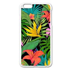Tropical Adventure Apple Iphone 6 Plus/6s Plus Enamel White Case