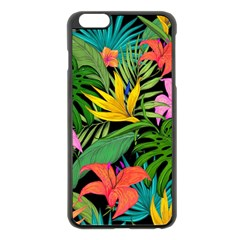 Tropical Adventure Apple Iphone 6 Plus/6s Plus Black Enamel Case