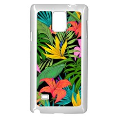 Tropical Adventure Samsung Galaxy Note 4 Case (white)
