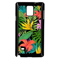 Tropical Adventure Samsung Galaxy Note 4 Case (black)