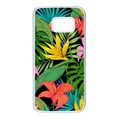 Tropical Adventure Samsung Galaxy S7 White Seamless Case