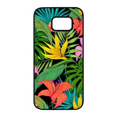 Tropical Adventure Samsung Galaxy S7 Edge Black Seamless Case
