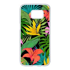Tropical Adventure Samsung Galaxy S7 Edge White Seamless Case