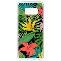 Tropical Adventure Samsung Galaxy S8 White Seamless Case