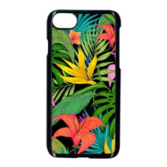 Tropical Adventure Apple Iphone 8 Seamless Case (black)