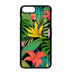 Tropical Adventure Apple Iphone 8 Plus Seamless Case (black)