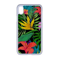 Tropical Adventure Apple Iphone Xr Seamless Case (white)