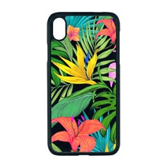 Tropical Adventure Apple Iphone Xr Seamless Case (black)
