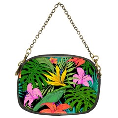 Tropical Adventure Chain Purse (two Sides)