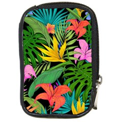 Tropical Adventure Compact Camera Leather Case
