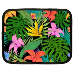 Tropical Adventure Netbook Case (xl) by retrotoomoderndesigns