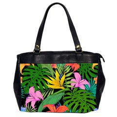 Tropical Adventure Oversize Office Handbag (2 Sides)