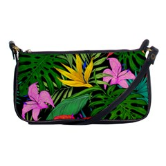 Tropical Adventure Shoulder Clutch Bag