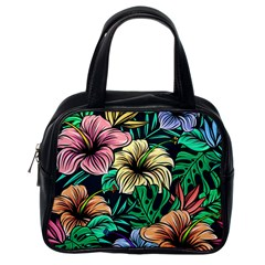 Hibiscus Dream Classic Handbag (one Side)