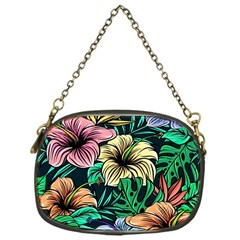 Hibiscus Dream Chain Purse (one Side)