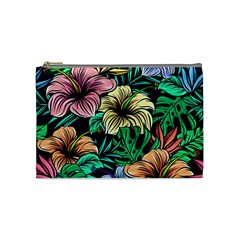 Hibiscus Dream Cosmetic Bag (medium)
