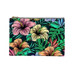 Hibiscus Dream Cosmetic Bag (large)