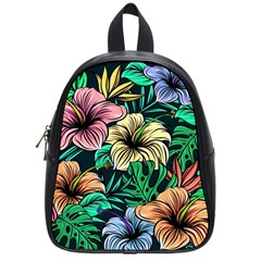 Hibiscus Dream School Bag (small)