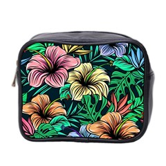 Hibiscus Dream Mini Toiletries Bag (two Sides)