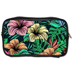 Hibiscus Dream Toiletries Bag (two Sides)