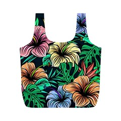 Hibiscus Dream Full Print Recycle Bag (m)