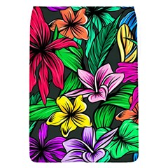 Neon Hibiscus Removable Flap Cover (s)
