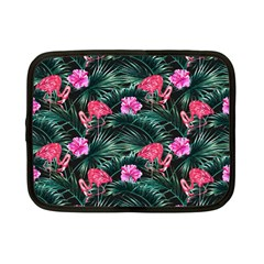 Rose Flamingos Netbook Case (small) by goljakoff