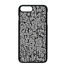 Black And White Abstract Apple Iphone 7 Plus Seamless Case (black) by retrotoomoderndesigns