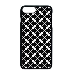 Black And White Fantasy Apple Iphone 7 Plus Seamless Case (black) by retrotoomoderndesigns