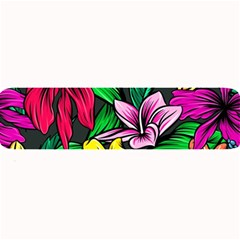 Neon Hibiscus Large Bar Mats