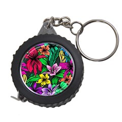 Neon Hibiscus Measuring Tape