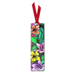 Neon Hibiscus Small Book Marks