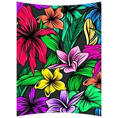 Neon Hibiscus Back Support Cushion