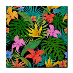 Tropical Adventure Tile Coasters