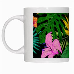Tropical Adventure White Mugs