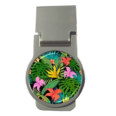 Tropical Adventure Money Clips (round)