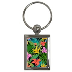 Tropical Adventure Key Chains (rectangle)