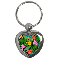 Tropical Adventure Key Chains (heart)